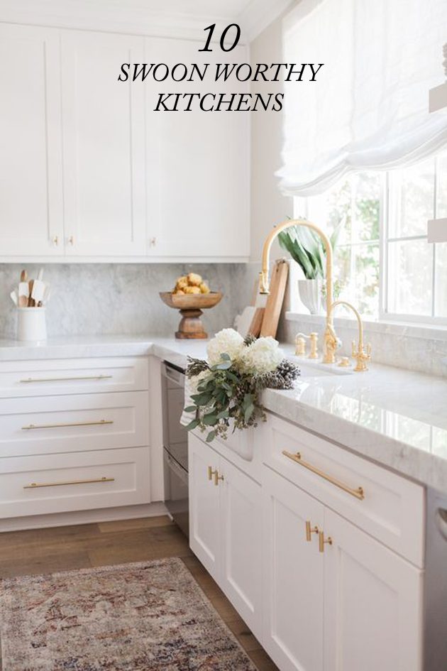 10 Swoon Worthy Kitchens
