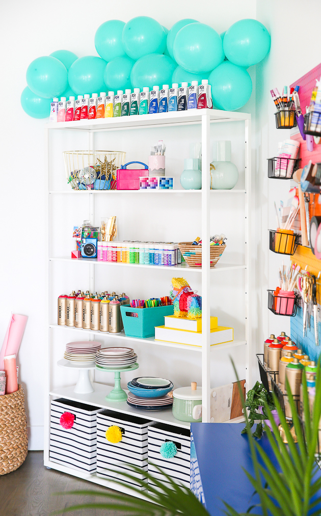 Take a tour of The Crafted Life's craft/photography studio!