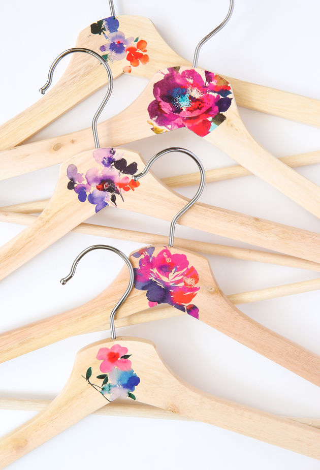DIY Wooden Hanger Makeover