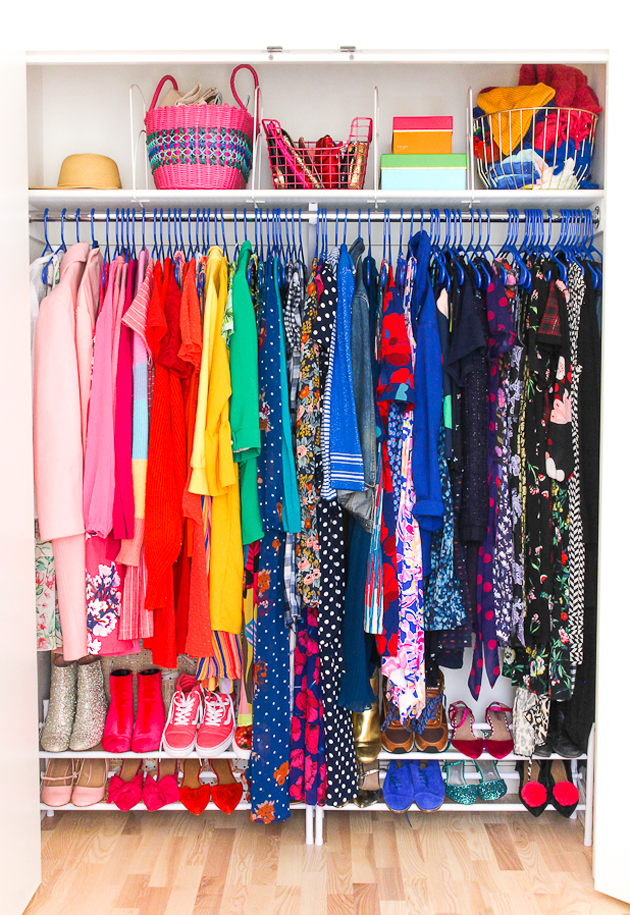 Closet Makeover + Organizational Must-Haves