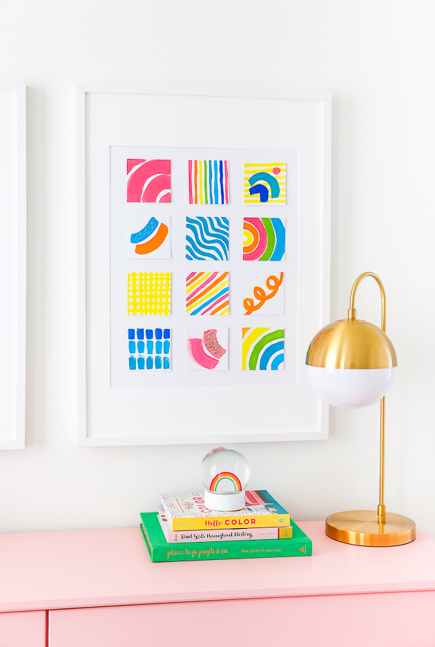 DIY Wall Art + A Creative Challenge