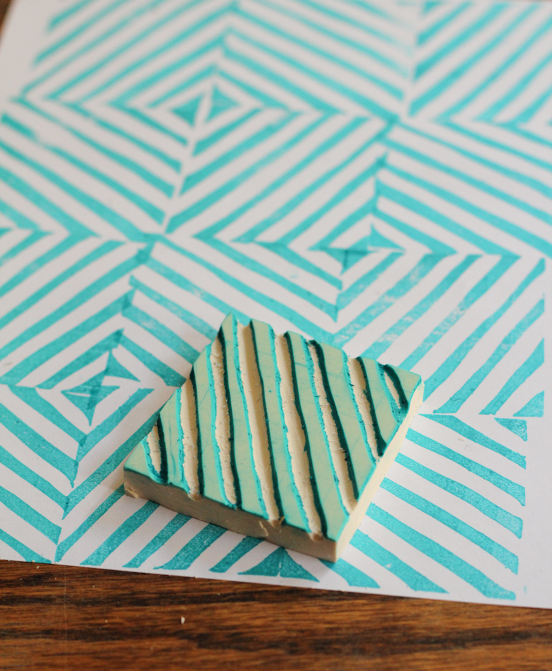 DIY Rubber Stamp | The Crafted Life