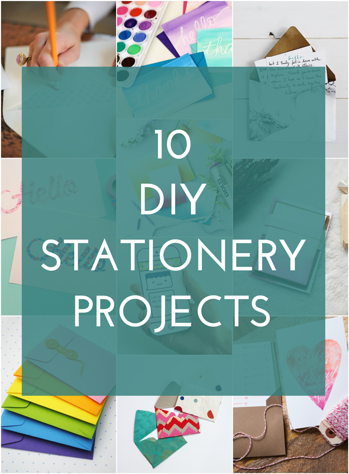 10 DIY Stationery Ideas - The Crafted Life